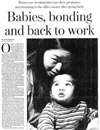 Babies, bonding and back to work, Chicago   Tribune